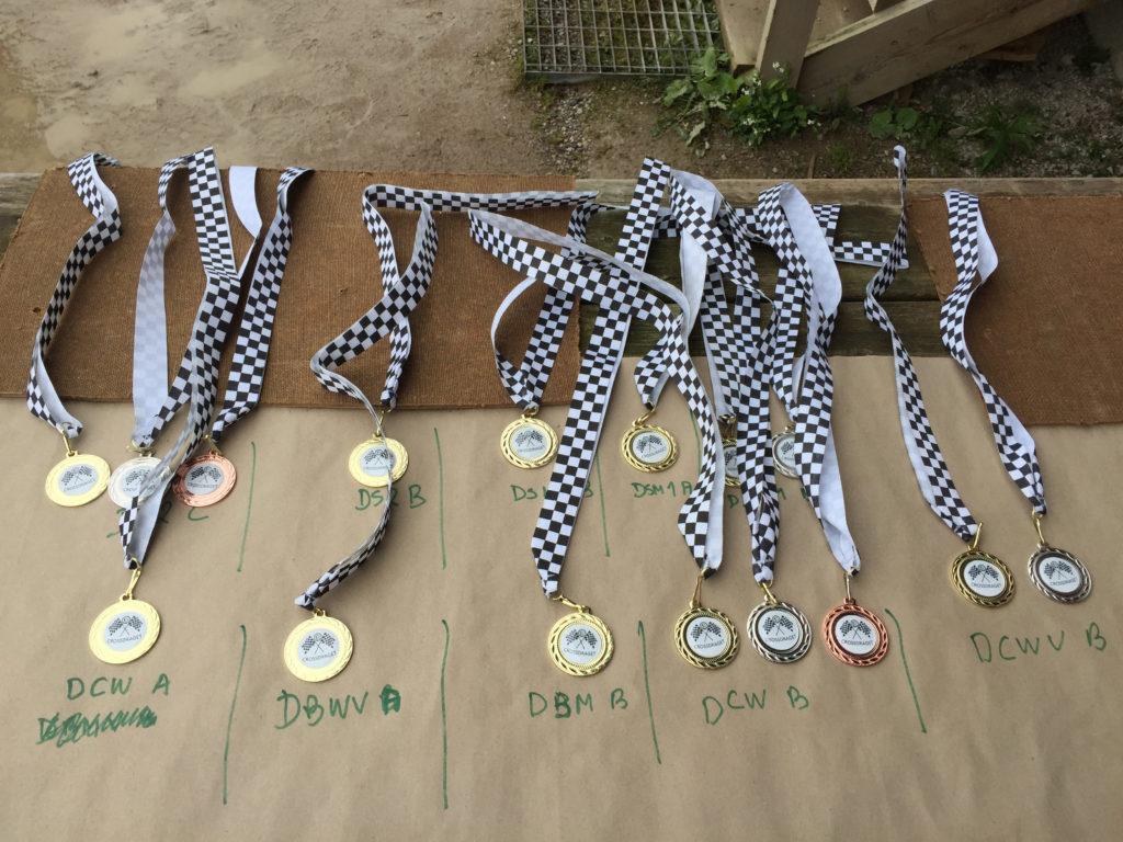 Medaljer. Foto: Christina Holm
